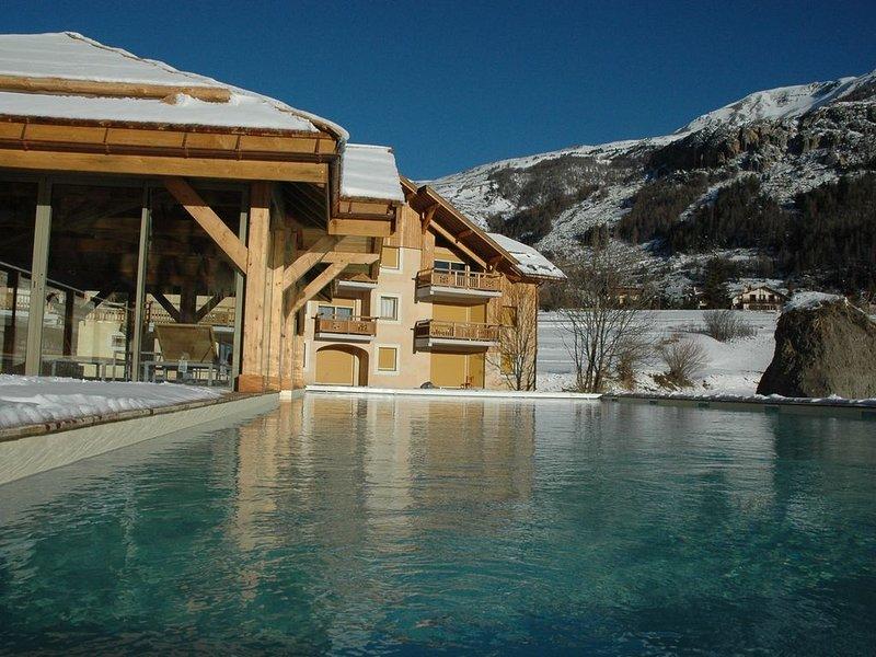 Appartement luxe à Serrechevalier 6 à 8 personnes. Promo du 5 au 18 janvier, location de vacances à Le Monetier-les-Bains