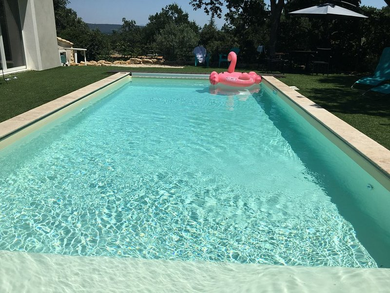 Grande Maison en Provence Family house in Provence. piscine chauffée heated pool, holiday rental in Piolenc