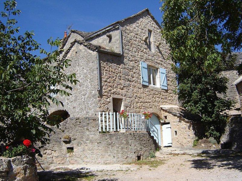 maison caussenarde  pres de Millau  parc reg. des grands 12720, aluguéis de temporada em La Roque-Sainte-Marguerite