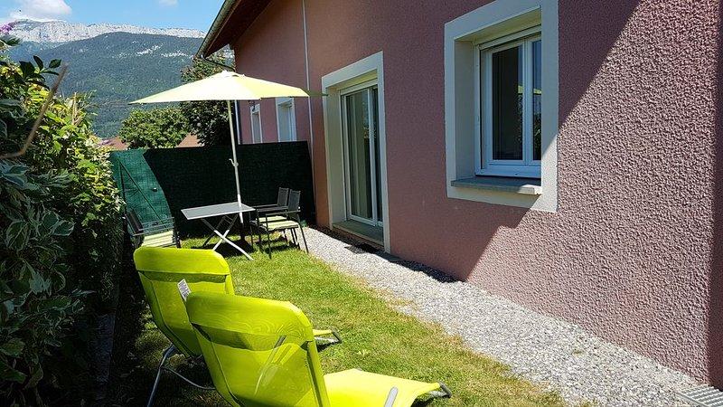 Maison indépendante à Annecy le Vieux, holiday rental in Annecy-le-Vieux