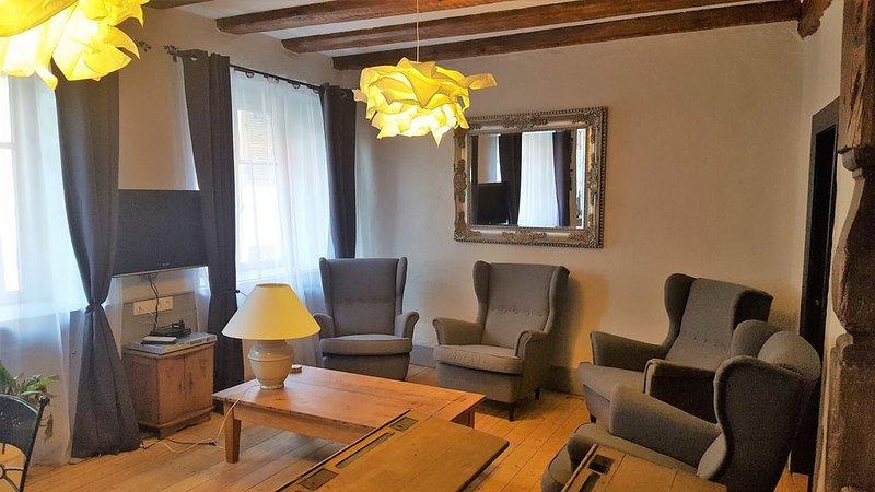A l'Ancienne Ecole, Nouveau Gîte, Magnifique et Authentique, aluguéis de temporada em Pfaffenheim