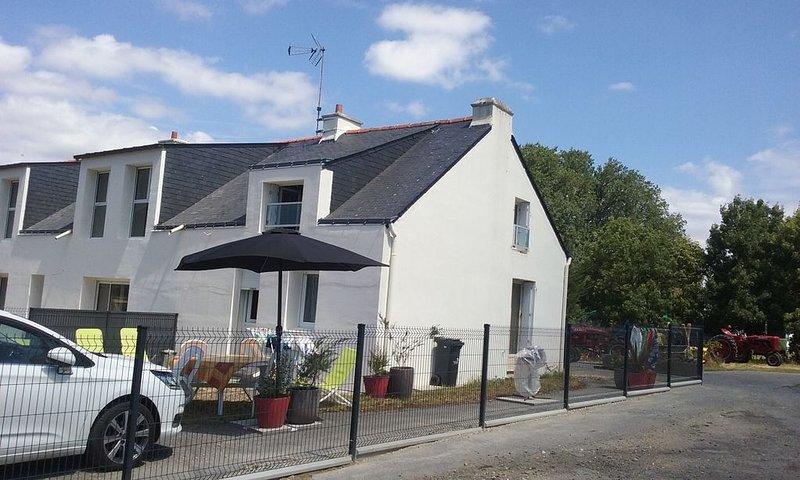 Maison Dans Le Village De Cadu (impasse) classée 2 étoiles février 2020, alquiler de vacaciones en Surzur