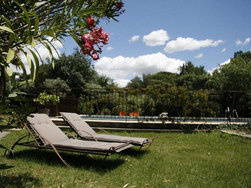 Appartement de charme dans Mas Provençal à Saint-Rémy-de-Provence, location de vacances à Saint-Rémy-de-Provence