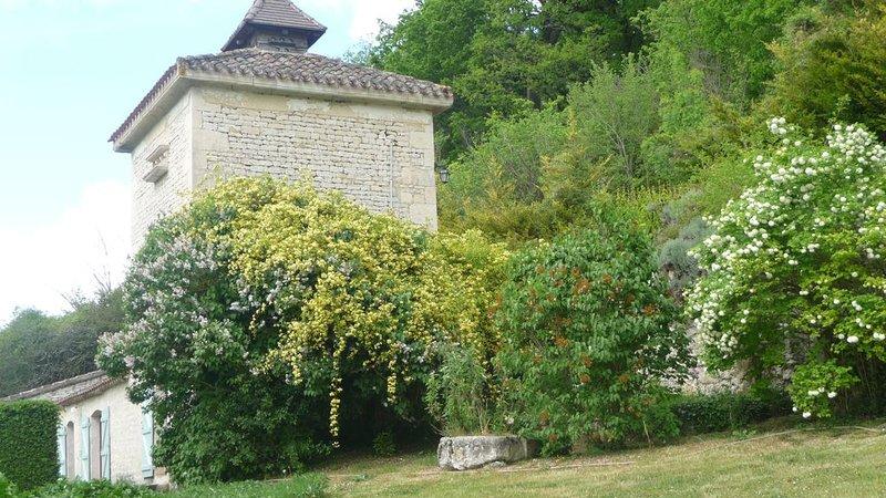 Repos & tranquillité pour 9 ou 13 personnes, location de vacances à Saint-Daunès