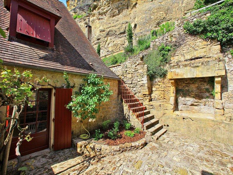 La Maison du Gabarrier avec vue imprenable sur la Dordogne, location de vacances à La Roque-Gageac