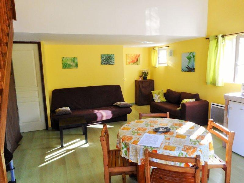 Gîte  indépendant confortable et lumineux dans maison de charme a Aups, aluguéis de temporada em Aups