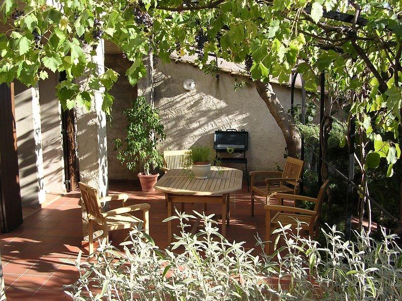T2 avec terrasse, jardin et WIFI entre parc du Luberon et parc du Verdon, casa vacanza a Pierrevert