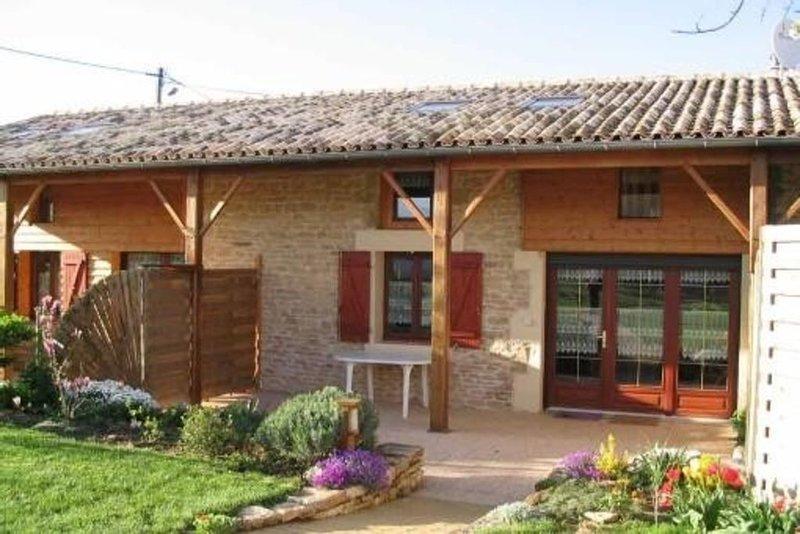 Gîte de France 5 personnes à Ruisseau en Poitou-Charentes, location de vacances à Prailles