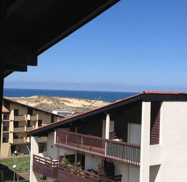 A 150 m des plages, charmant appartement avec vue océan et terrasse, vacation rental in Seignosse