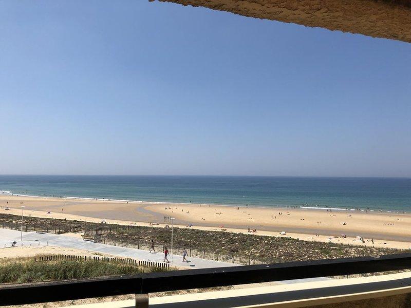 Magnifique appartement de 60m² - 6 personnes avec terrasse vue océan Plage Sud, vacation rental in Lacanau