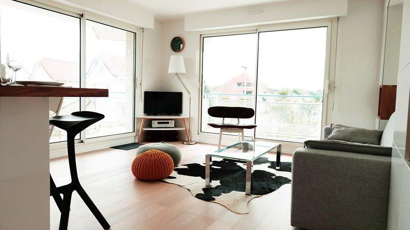 Appartement Le Touquet Paris Plage. Résidence calme, 4min centre / bord de mer, location de vacances à Le Touquet – Paris-Plage