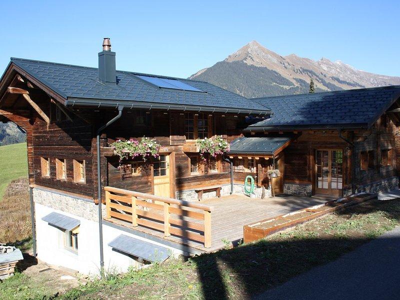 Les Granges : chalet de montagne de charme, location de vacances à Le Sepey