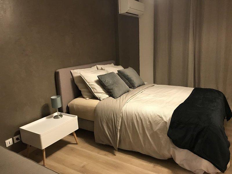 grand appartement avec 1 chambre et un jardin. Max 6 personnes. Tout confort., casa vacanza a Sainte-Agnes