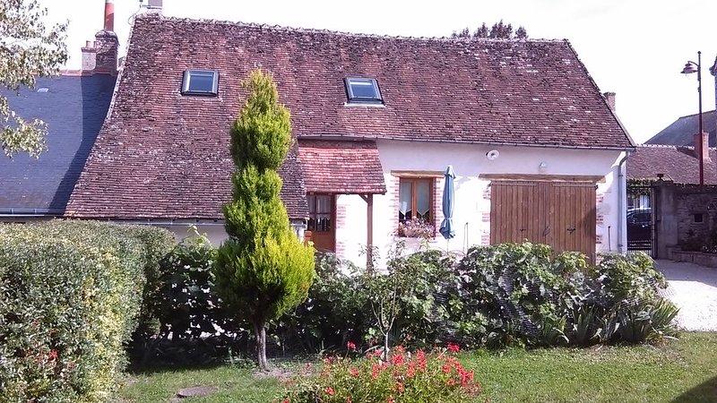Gite rural au coeur d'un village solognot, location de vacances à Mont-pres-Chambord