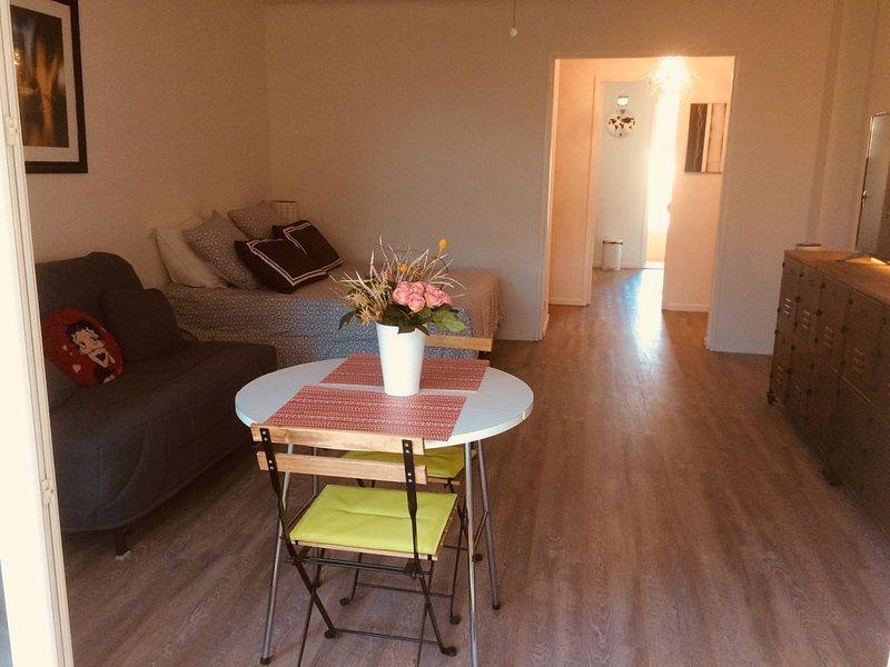 Appartement cosy à 300 mètres de la plage à 50m de sanary, holiday rental in Six-Fours-les-Plages