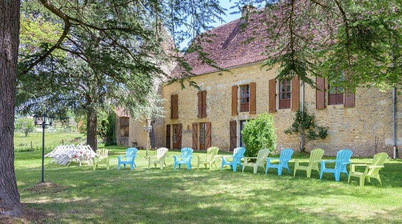 Le Manoir de La Pomarède, vacation rental in Mouzens