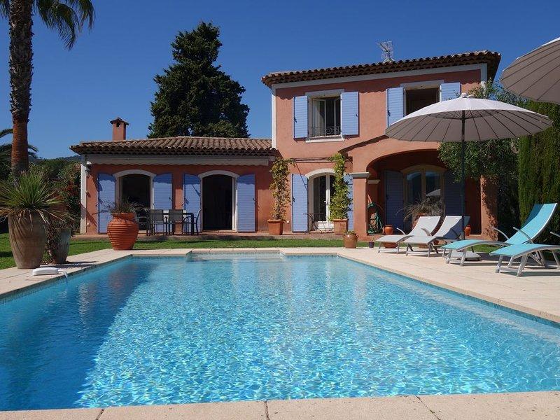 Cannes Mandelieu belle villa avec piscine privée. – semesterbostad i Mandelieu-la-Napoule