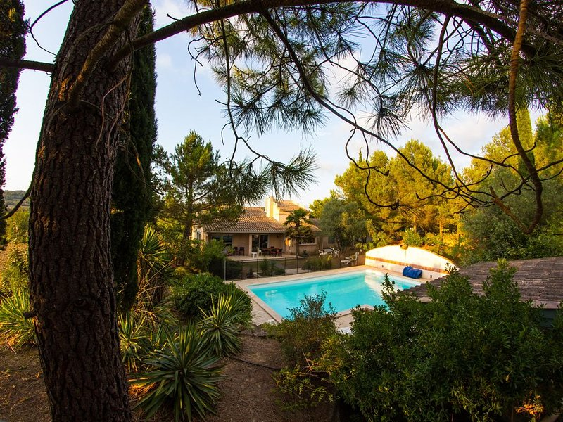 Villa de charme au seuil de la Cité et aux portes des Corbières, holiday rental in Fonties-d'Aude