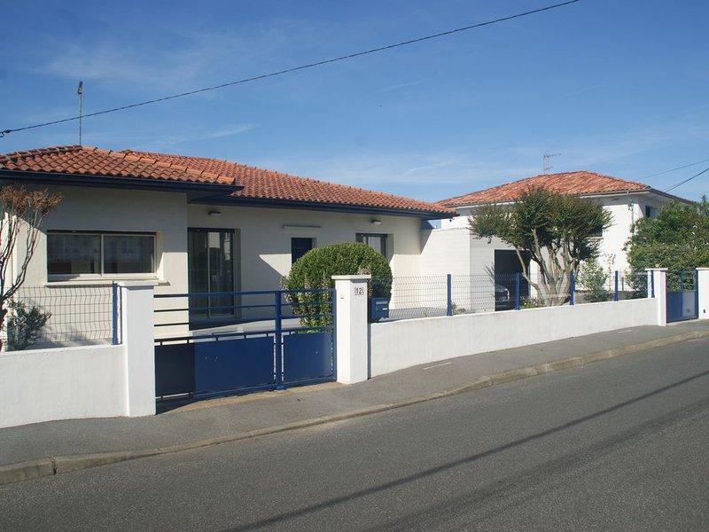 Maison Anglet, proche des plages, 5 pièces, 8 personnes, location de vacances à Anglet