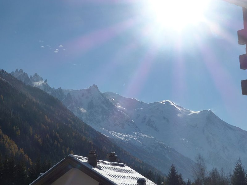 Ski aux Grands-Montets - Proche toutes commodités - Vue Mont-Blanc ! – semesterbostad i Argentiere