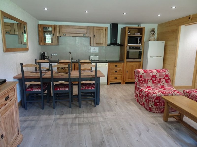 La Plagne, Les Coches Appt 6/7 pers. spacious and comfortable, renovated in 2014, holiday rental in Les Coches
