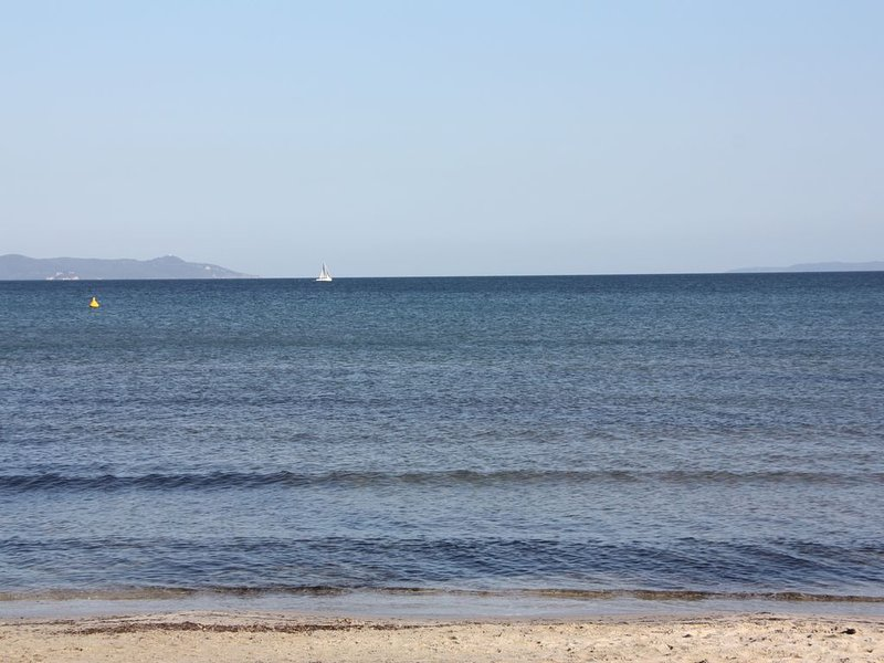 beach of La Capte, 50m