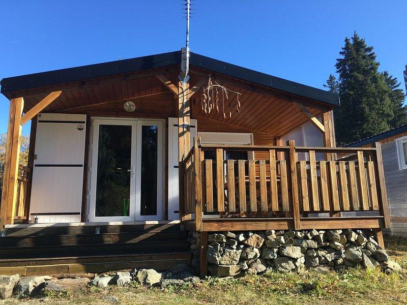 Charmant chalet individuel, très confortable, situé en bas des pistes de ski, casa vacanza a Laffrey