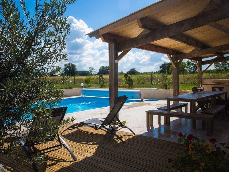 Gîte LEGOTINE: Grande Métairie restaurée, alquiler de vacaciones en Lot-et-Garonne