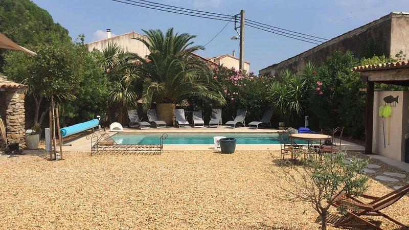 Belle maison vigneronne entièrement rénovée, holiday rental in Fontes