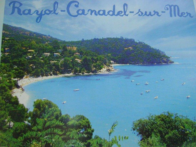 Appartement vue sur mer exceptionnelle dans villa individuelle Côte d'Azur, casa vacanza a Rayol-Canadel-sur-Mer
