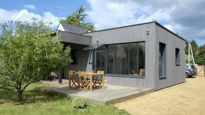 Maison de plein pied à 500 mètres de la plage des Godelins, location de vacances à Étables-sur-Mer