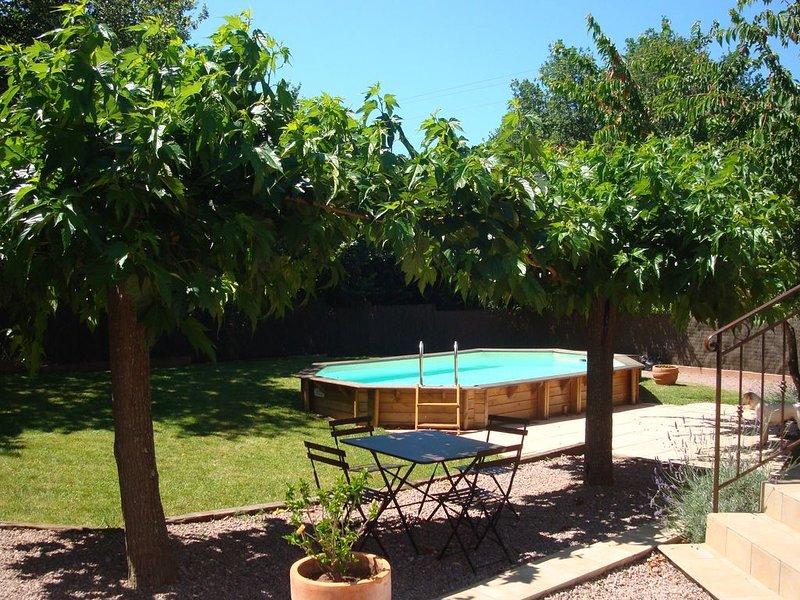 PROVENCE /COTE d'AZUR  calme piscine privée entre mer et campagne  climatisée, vakantiewoning in Roquebrune-sur-Argens