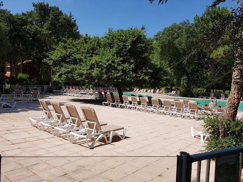 Au calme, Plage et Golf à pied, Maison 3* à Moliets (5 personnes, 3 chambres), holiday rental in Moliets et Maa