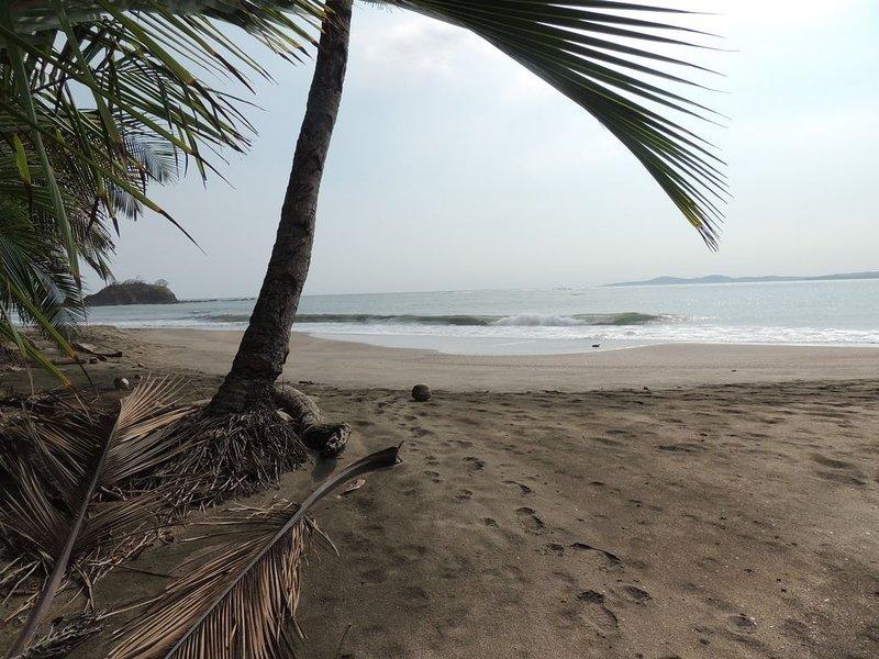 Nuestra isla Cebaco frente a la playa; snorkel y pesca allí, puedo arreglarlo