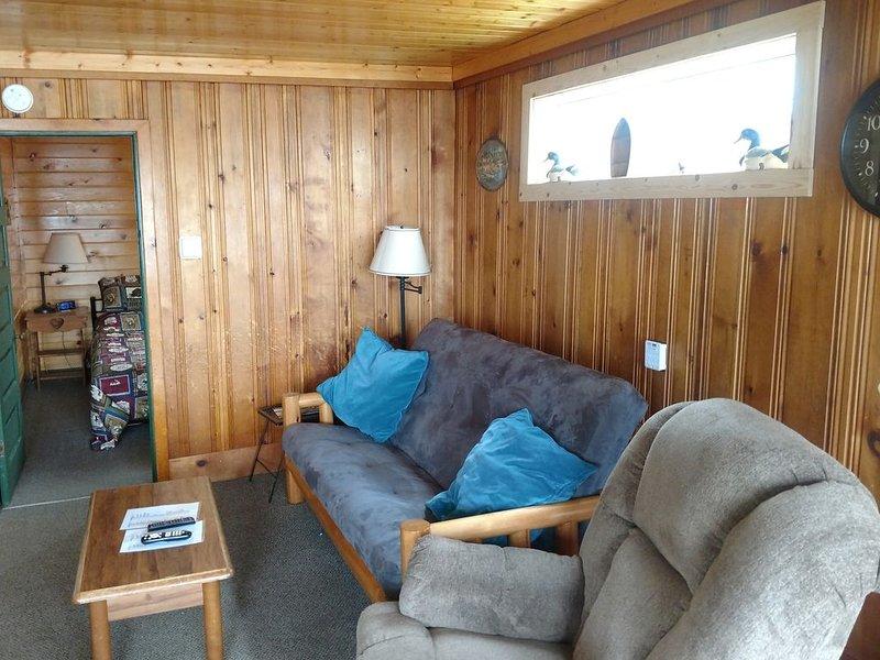 Comfy year round rental cabin at Lake Osakis Minnesota !, holiday rental in Osakis