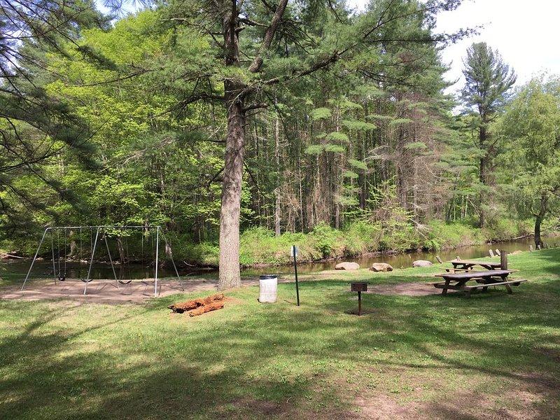 Umpachene Falls Park w/swings, picnic area