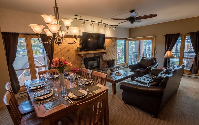Top Floor Views!No Clean Fee,Ski-In/Out,Downtown Breck, vacation rental in Breckenridge