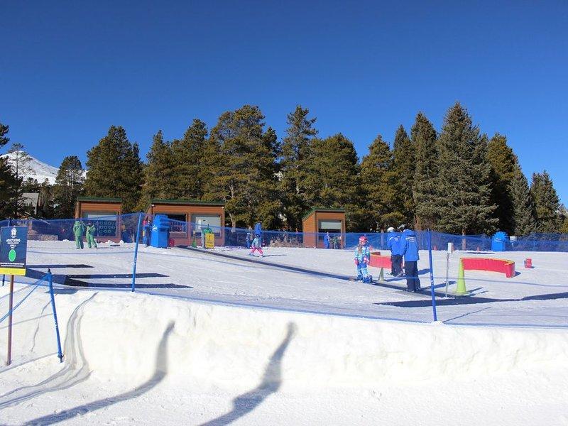 Breckenridge Ski and Ride School ubicada dentro del complejo
