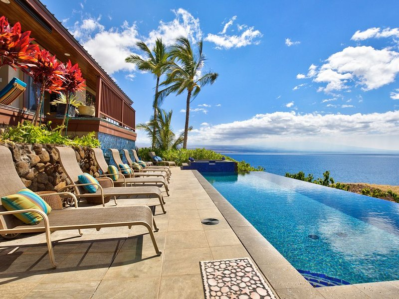 Spectacular Ocean Views, Luxury Resort-style Home, Waterfront Privacy, vacation rental in Hawi