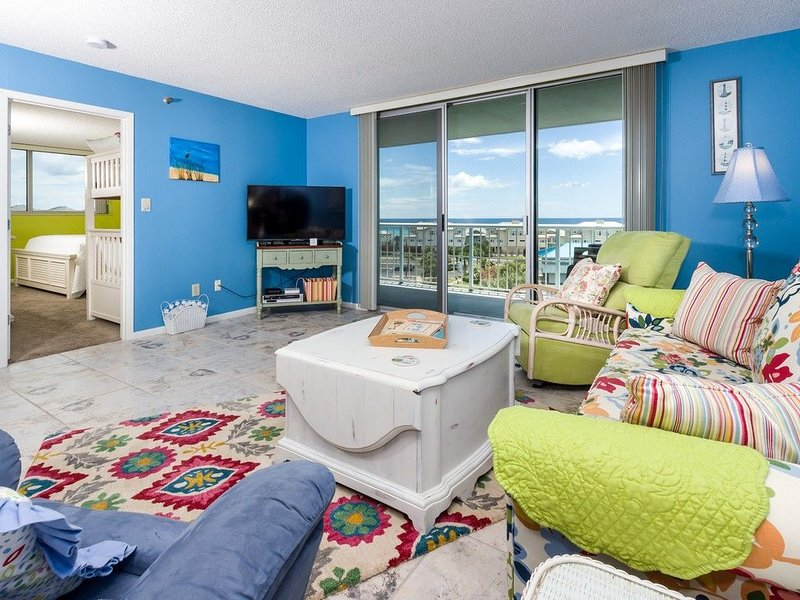 Gulf View-Well stocked 5 Star ⭐️ Reviews-Tristan Towers 4th fl 'Pelican Cove', vacation rental in Pensacola Beach