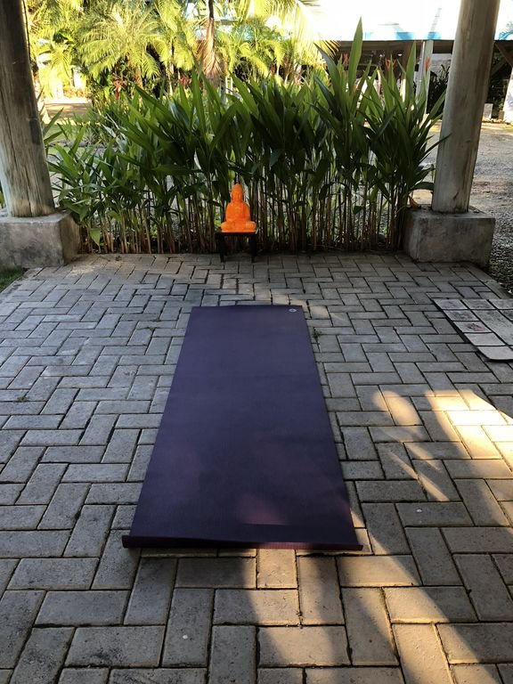 Bring your yoga mat,  this is a great place to do a little yoga