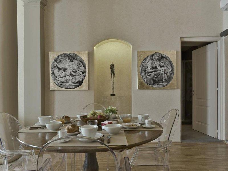 Livingroom dining area