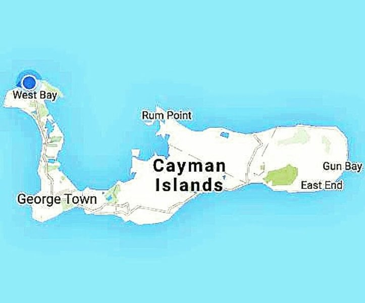 Located on northern point of Cayman, allowing sunset and sunrise photos-wow!