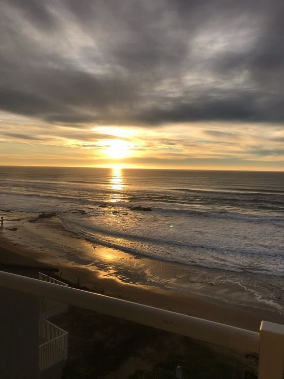 Enjoy stunning sunset from the deck