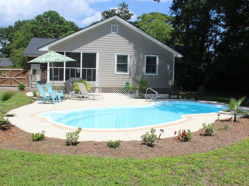 Private Mt. Pleasant home with a Pool!, location de vacances à Sullivan's Island