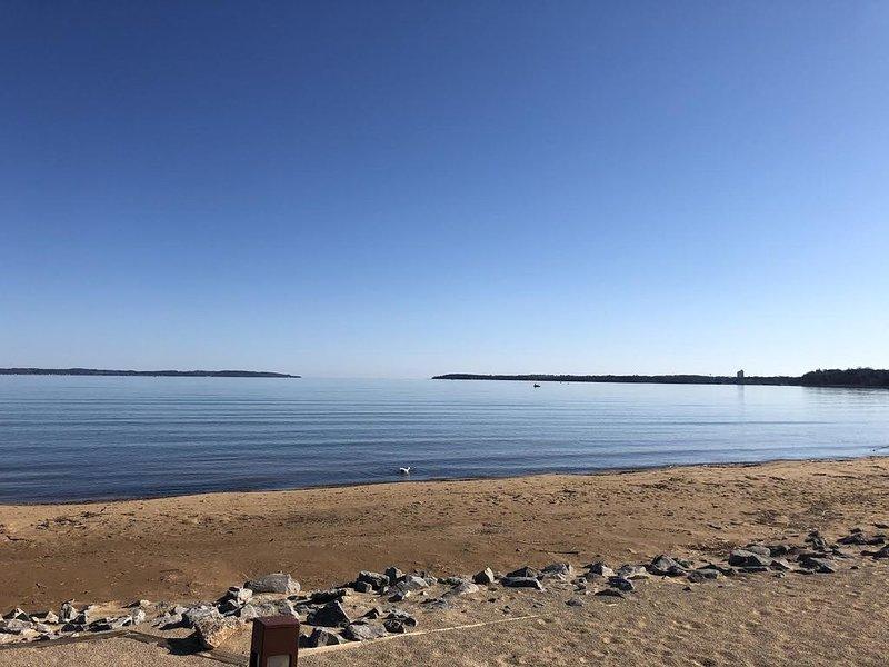 beach & water view
