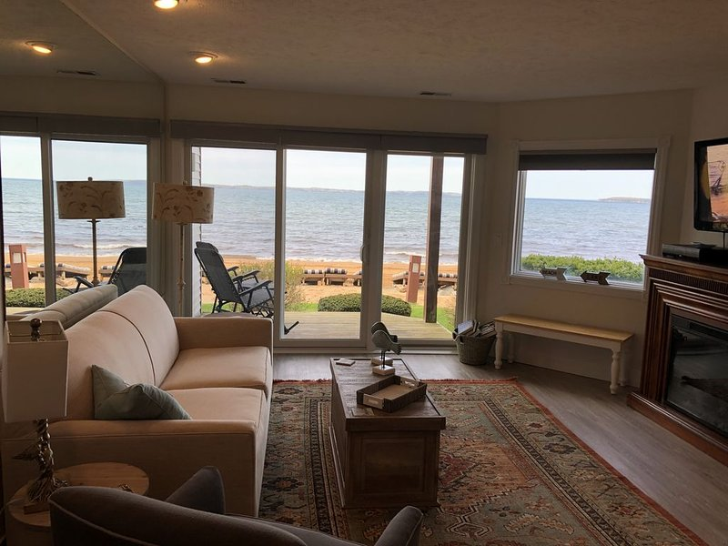 Direct Beachfront- Perfect location~All SEASONS!, vacation rental in Traverse City