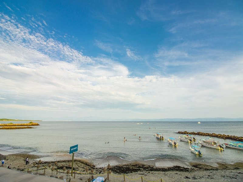You'll Love the View - Beachfront Punta Mita!  LAST MINUTE OFFER!, vacation rental in Punta de Mita