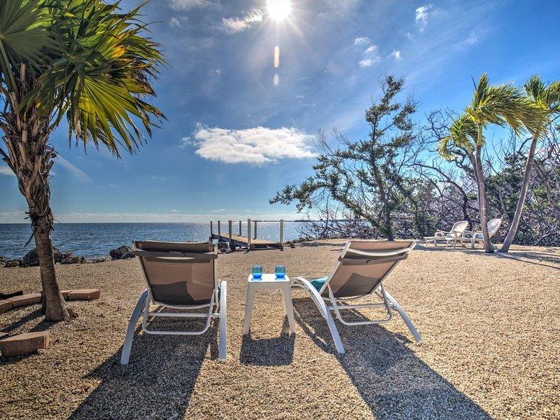 Private Oceanfront 3 bedroom conch house, alquiler vacacional en Marathon