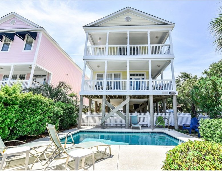 An Ocean View from Family Tides aka, 29 Bella Vista, Surfside Beach, SC, location de vacances à Surfside Beach